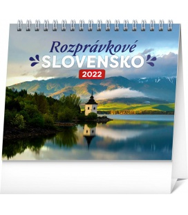 Table calendar Slovak Scenic Beauty 2022