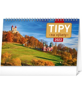 Table calendar Travel Tips 2022
