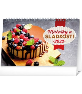 Table calendar Cakes 2022