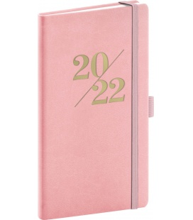Weekly pocket diary Vivella Fun pink 2022