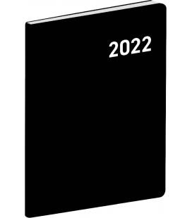 Monthly Pocket Diary planning Mini PVC black 2022
