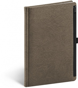 Notebook A5 Hardy, brown, lined 2022