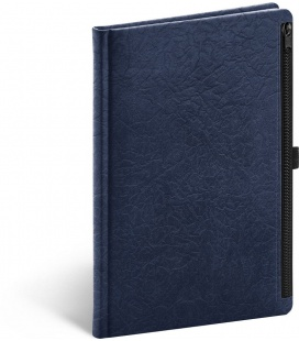 Notebook A5 Hardy, blue, lined 2022