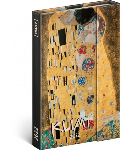 Magnetic weekly diary Gustav Klimt 2022