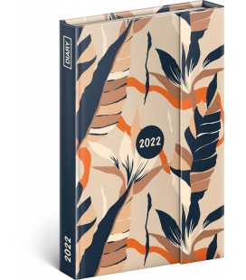Magnetic weekly diary Leaves 2022