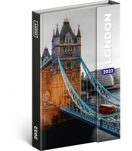 Magnetic weekly diary London 2022