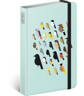 Notebook pocket Pavel Fuksa, lined 2022