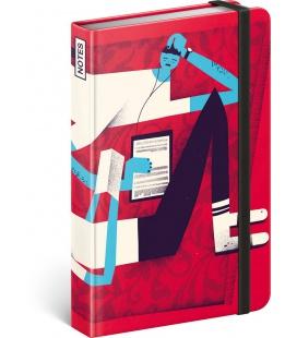 Notebook pocket Dominik Miklušák, lined 2022