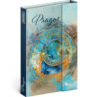 Notebook pocket magnetic Prague Astronomical Clock, lined 2022