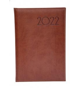 Weekly Diary B5 obšitý Parigina brown 2022