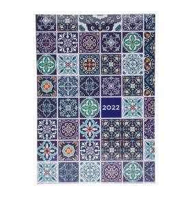 Daily Diary A5 721 LAMINO tištěný a laminovaný potah PATCHWORK 2022