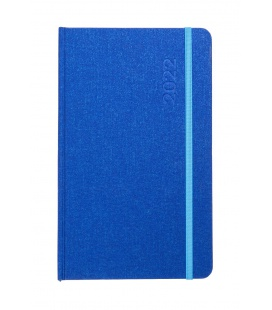 Weekly Diary - Notepad  TREND Plátno blue, blue 2022