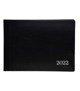 Weekly diary 803  PVC black 2022