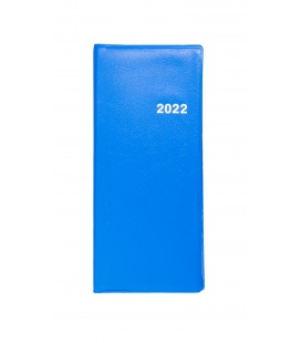 Diary - Planning monthly notebook 718 PVC blue 2022