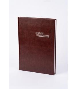 Diary - Daily Notes A4 UNI Koženka brown 2022