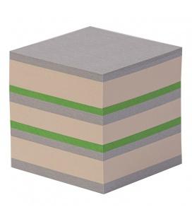 Notepad - CUBE 9x9x9 cm papír barevný mix 2022