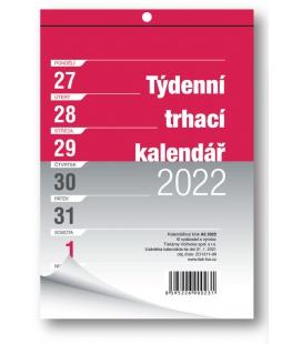 Wall calendar notepad A5 week  2022