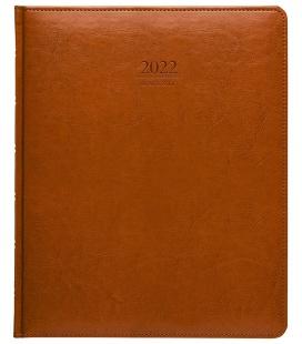 Diary President weekly A4 Kastor brown 2022