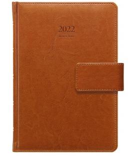 Daily Diary A5 Kastor s poutkem brown 2022