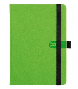 Weekly Diary A5 Trendy green, black 2022