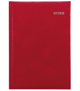 Weekly Diary A5 Kronos red 2022