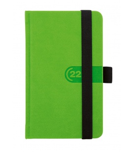 Weekly Pocket Diary Trendy green, black 2022