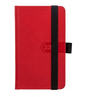 Weekly Pocket Diary Trendy red, black 2022