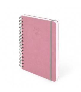 Weekly Diary A5 Motivační Smart se spirálou pink 2022