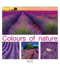 Wall calendar Colours od Nature 2022