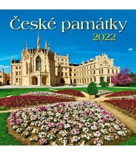 Wall calendar České památky 2022