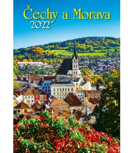Wall calendar Čechy a Morava 2022