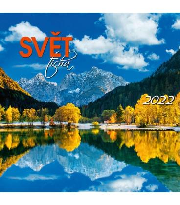 Wall calendar Svět ticha 2022