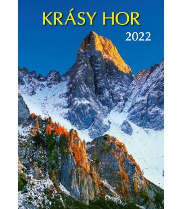 Wall calendar Krásy hor 2022