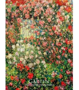 Wall calendar Gardens Impresionist 2022