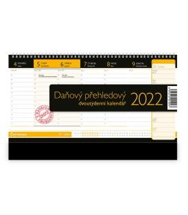 Table calendar Daňový přehledový 2022