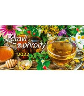 Table calendar Zdraví z přírody 2022