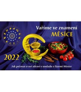 Table calendar Vaříme ve znamení měsíce 2022
