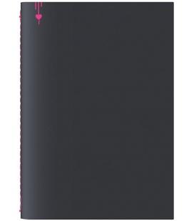 Notepad A5 Pop black, pink 2022