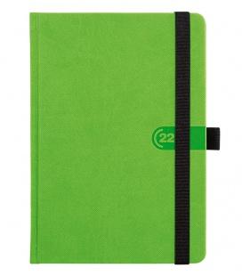 Daily Diary A5 slovak Trendy green, black 2022