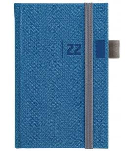 Weekly Pocket Diary slovak Tweed blue, grey 2022