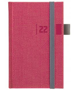 Weekly Pocket Diary slovak Tweed red, grey 2022