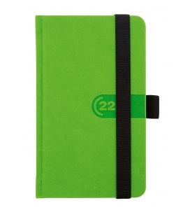 Weekly Pocket Diary slovak Trendy green, black 2022