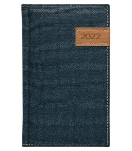 Weekly Pocket Diary slovak Denim blue 2022