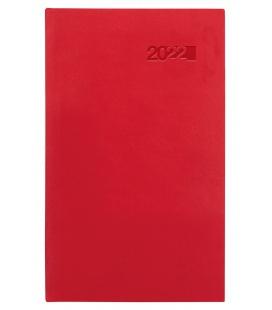 Weekly Pocket Diary slovak Viva red (Karmé) 2022