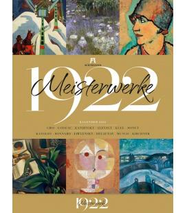 Wall calendar Meisterwerke 1922 - Kunst-Kalender 2022