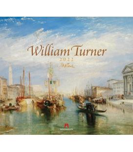 Wall calendar William Turner Kalender 2022
