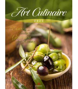 Wall calendar Art Culinaire Kalender 2022