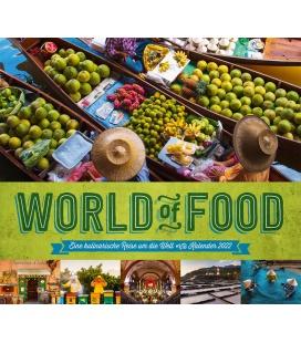 Wall calendar World of Food - Kulinarische Weltreise Kalender 2022
