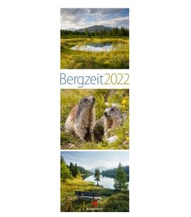 Wall calendar Bergzeit Kalender 2022