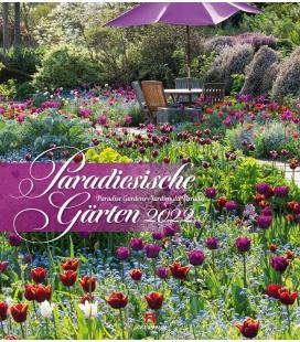 Wall calendar Paradiesische Gärten Kalender 2022